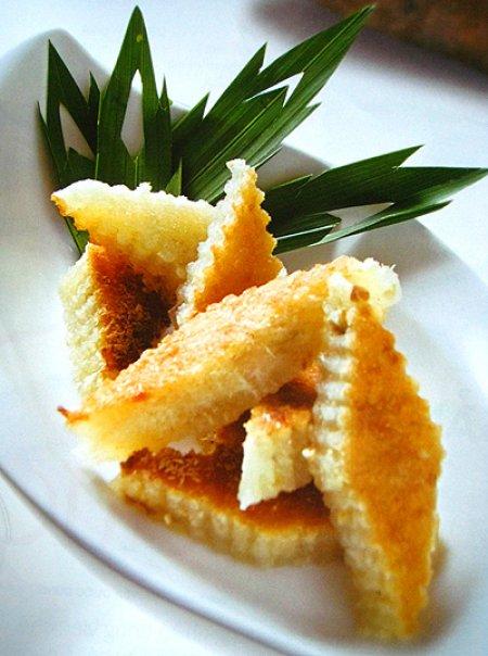 Bánh khoai mì nước dừa