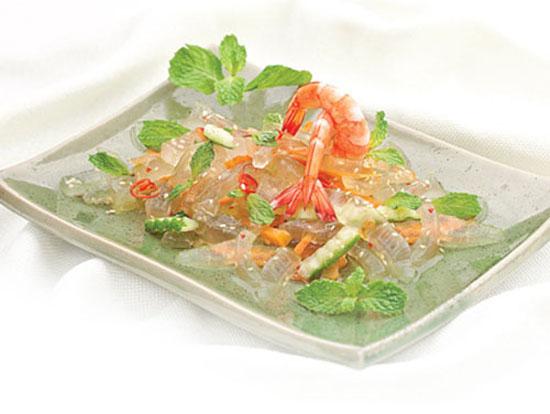 Hướng dẫn cách làm salad nha đam