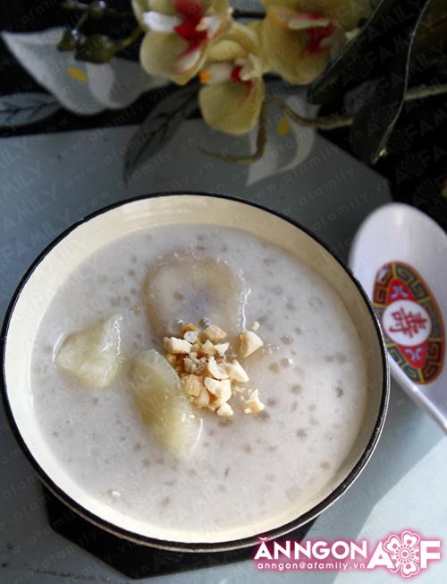 Chè chuối cốt dừa thơm ngon