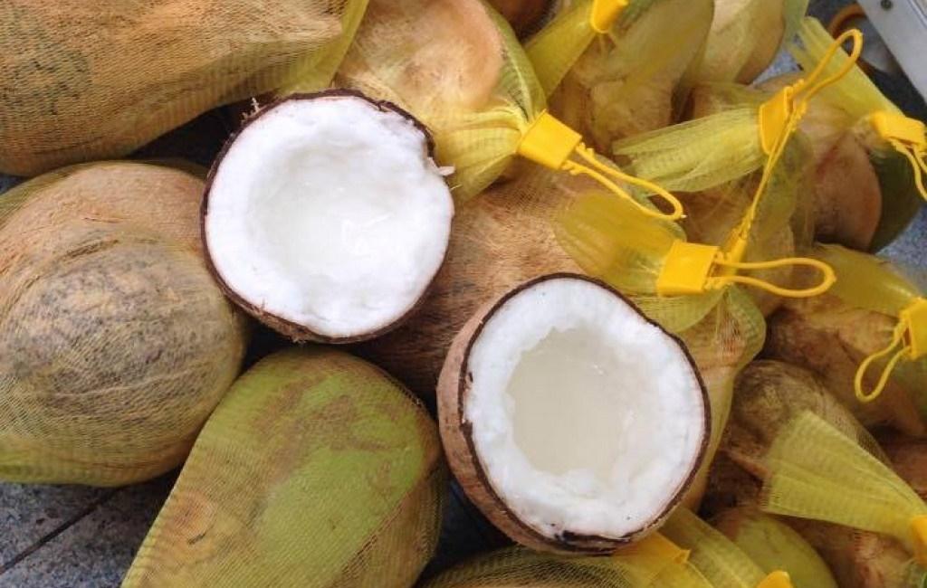 Bán Dừa Sáp Tại Quận 9