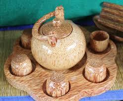 thủ công mỹ nghệ làm từ dừa